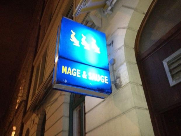 Ente gut, alles gut: Das Nage & Sauge in der Mariannenstraße.