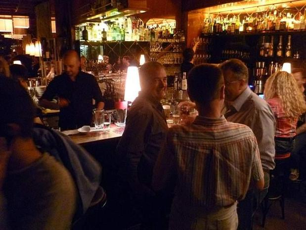 Trotz Qualität noch nicht überlaufen: Die Bar des Lux.