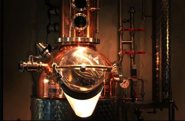 Das is dieses Vodka-Brenndingens... Fragt mich nicht wie es funktioniert. Sieht aber stylisch aus.