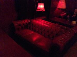Wohnzimmerstyle in der X-Bar.